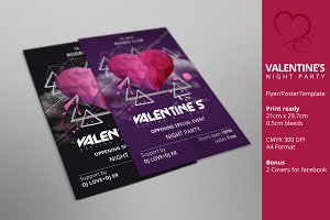 Valentine's day party poster/flyer