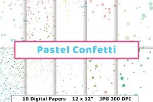Pastel Confetti Opaque Pattern