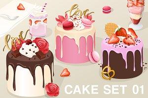 Cake Set 01