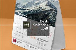 Desk Calendar 2018 (DC024-18)