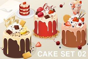 Cake Set 02