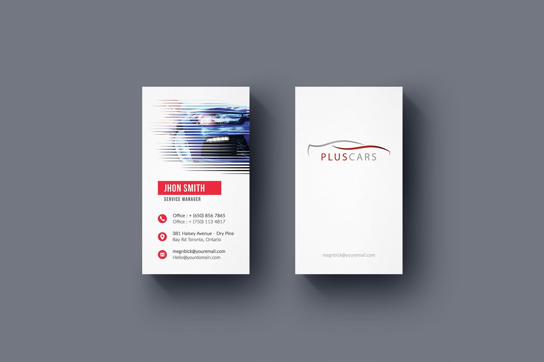 rent a car business card business card templates creative market