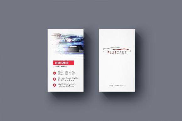 Rent A Car Business Card