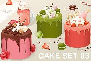 Cake Set 03