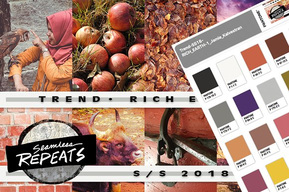 Trend Color S S 2018 Rich Earth
