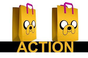 Bag Mockup Action