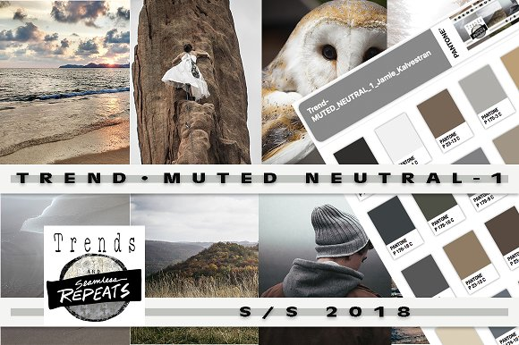 Trend Color S S 2018 Muted Neutrals