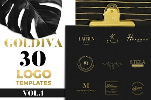 GOLDIVA Logo Pack Vol.1
