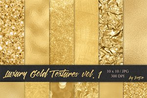 Luxury Gold Textures I
