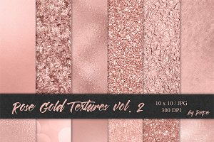 Rose Gold Textures II