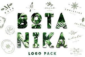 BOTANIKA Logo Pack