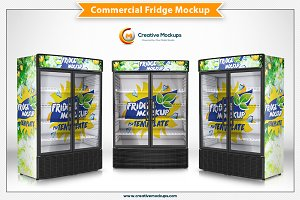 Commercial Fridge Mockups