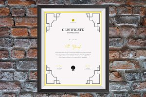 Certificate vm1