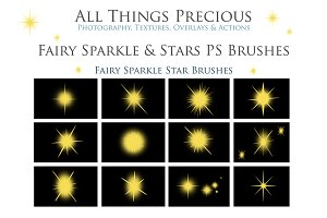 Fairy Sparkle & Star PS Brushes