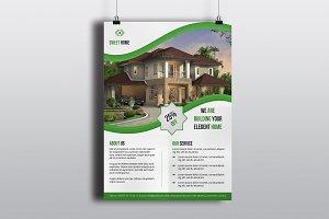 Real Estate Flyer Template V592