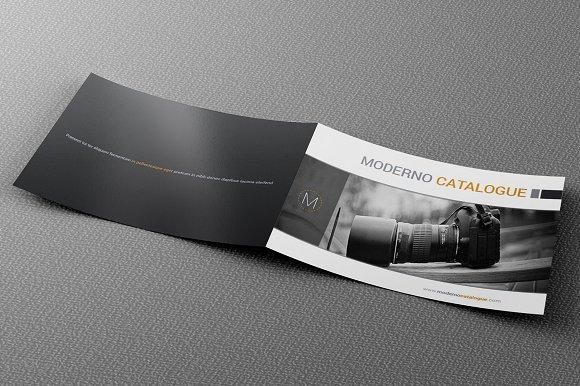 Moderno Catalogue Template