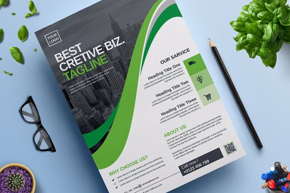 Corporate Business Flyer Vol 03