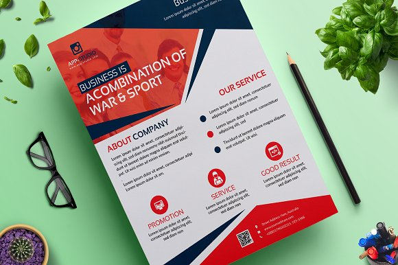 Corporate Business Flyer Vol 04