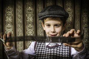 Child considered analog photographic