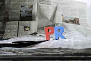 Word PR on newspaper