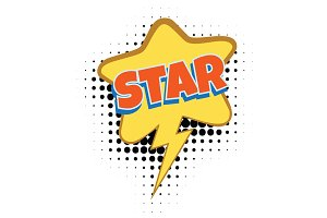 star comic word