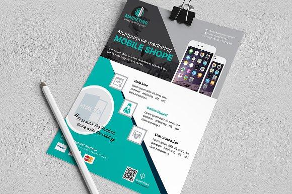 Mobile App Business Flyer Vol 02