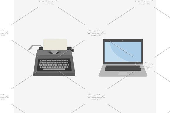 Laptop Illustration Icon