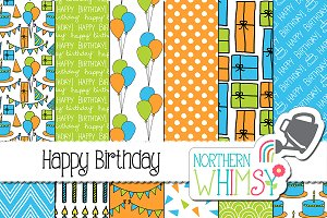 Boys Birthday Patterns
