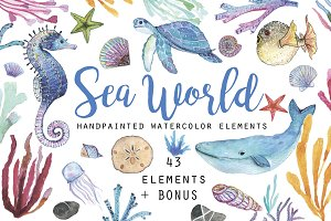 43 elements of undersea world