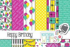 Womens Birthday Patterns