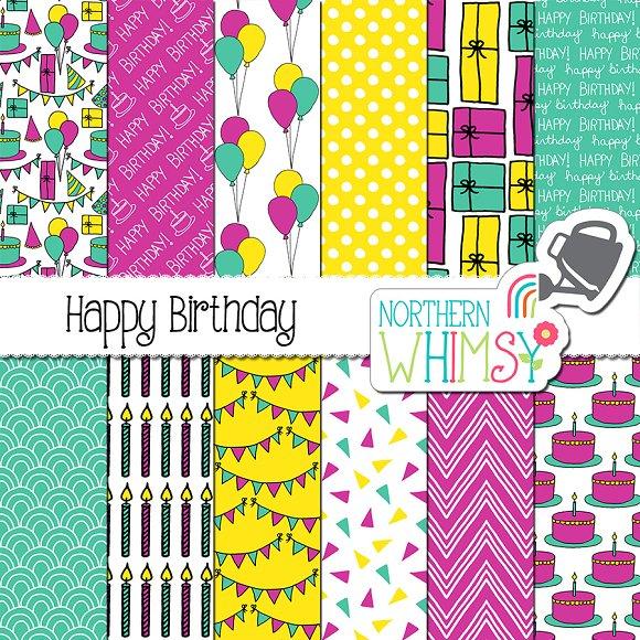 Womens Birthday Patterns
