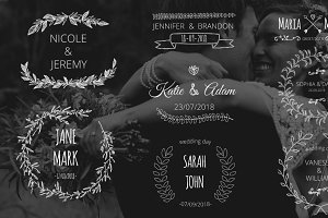 Wedding Day Titles