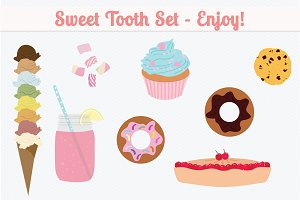Web Elements - Sweet Tooth Set