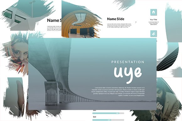 Uye Keynote Template ONLY $10