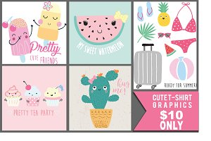 Cute Graphics For Girl T-shirt etc.