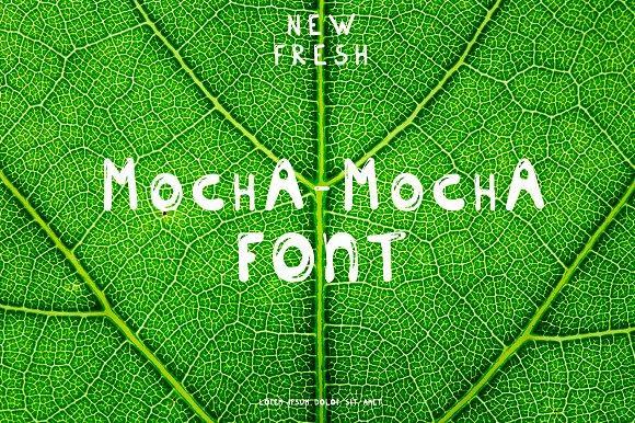 New Fresh MOCHA Font
