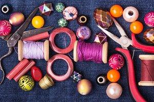 fashion colorful beads