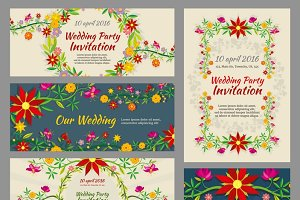 Invitation wedding cards