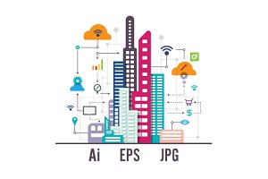 Business Social Internet City