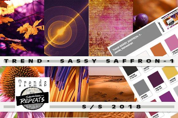 Trend Color S S 2018 Sassy Saffron