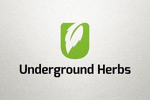 Underground Herbs - Letter U Logo