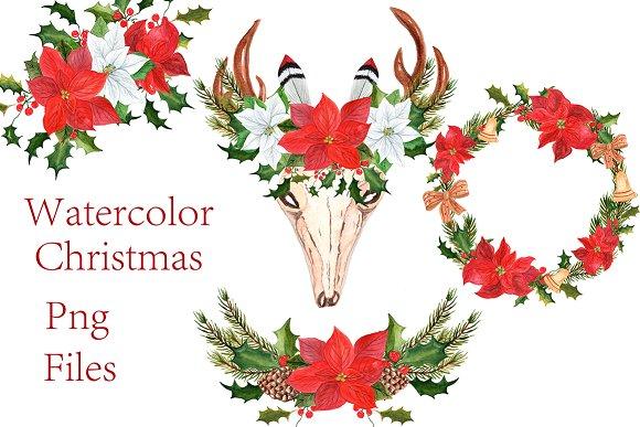 Christmas Wreaths Clipart