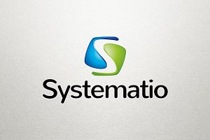 Systematio - S Letter Logo