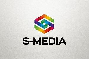 S Media - Letter S Logo