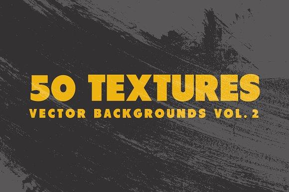 50 Vector Texture Backgrounds Vol 2