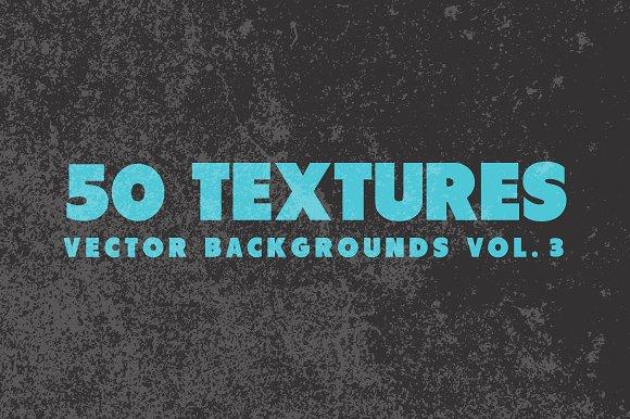50 Vector Texture Backgrounds Vol 3