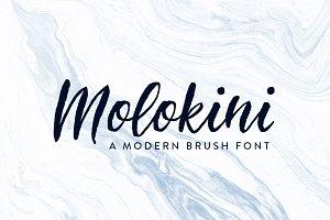 Molokini Brush Script