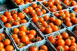 Tomatoes from farms market