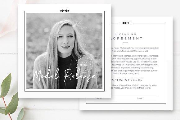 Photographer Model Release Template