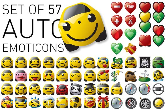 Auto Emoticon Set